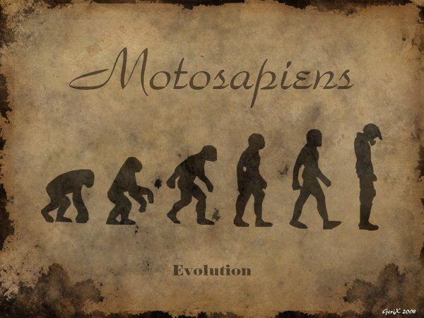 ovvero la teoria dell'evoluzione...