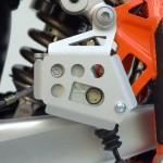 Protezione cilindro freno posteriore